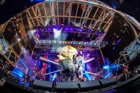 Five Finger Death Punch - Jason Hook, Jeremy Spencer, Ivan L. Moody, and Zoltan Bathory