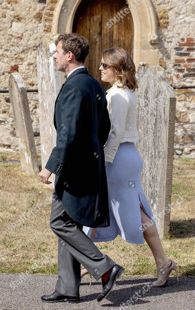 Stock Picture of Princess Eugenie and Jack Brooksbank