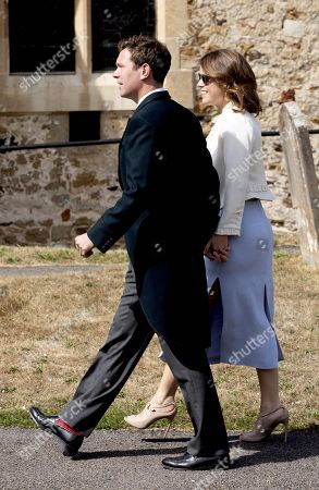 Stock Photo of Princess Eugenie and Jack Brooksbank