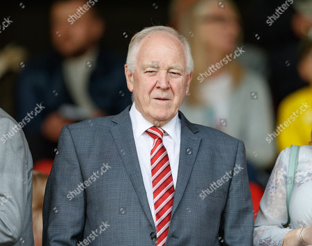 Stock Picture of Craig Brown - former Aberdeen & Scotland Manager in the directors box.