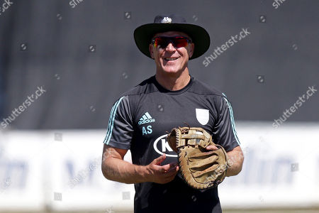Stock Picture of Alec Stewart of Surrey during Essex Eagles vs Surrey, Vitality Blast T20 Cricket at The Cloudfm County Ground on 5th August 2018