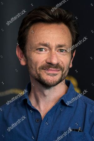 Stock Photo of British actor Justin Salinger poses during a photocall for the film 'Ray & Liz' at the 71st Locarno International Film Festival, in Locarno, Switzerland, 05 August 2018. The Locarno International Film Festival runs from 01 to 11 August.
