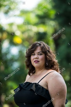 British actress Ella Smith poses during a photocall for the film 'Ray & Liz' at the 71st Locarno International Film Festival, in Locarno, Switzerland, 05 August 2018. The Locarno International Film Festival runs from 01 to 11 August.