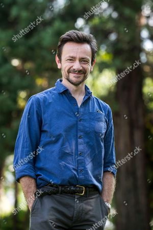 British actor Justin Salinger poses during a photocall for the film 'Ray & Liz' at the 71st Locarno International Film Festival, in Locarno, Switzerland, 05 August 2018. The Locarno International Film Festival runs from 01 to 11 August.