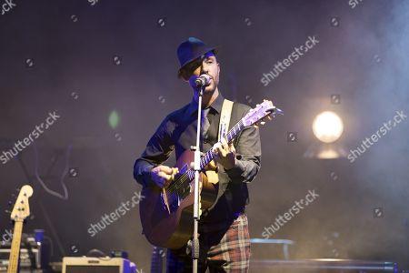 "Charlie Winston performs during the ""Dime on Fest"" festival at Theatre de Verdure"