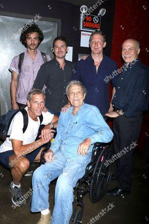 Jordan Abrams, associate producer, Corey Reeser, producer, Matt Tyrnauer, director, Bob Eisenhardt, film editor with Phil Sansone and Scotty Bowers