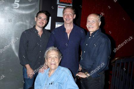 Corey Reeser, producer, Matt Tyrnauer, director, Bob Eisenhardt, film editor with Scotty Bowers