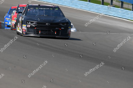 Monster Energy NASCAR Cup Series driver Cole Whitt #72 leads a group of cars during the Monster Energy NASCAR Cup Series Go Bowling at The Glen on at Watkins Glen International in Watkins Glen, New York