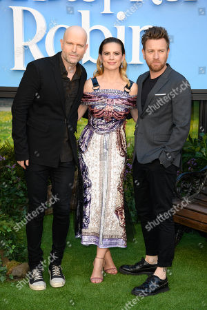 Marc Forster, Hayley Atwell and Ewan McGregor