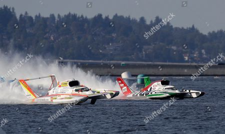 Editorial image of Seafair Hydroplanes, Seattle, USA - 05 Aug 2018