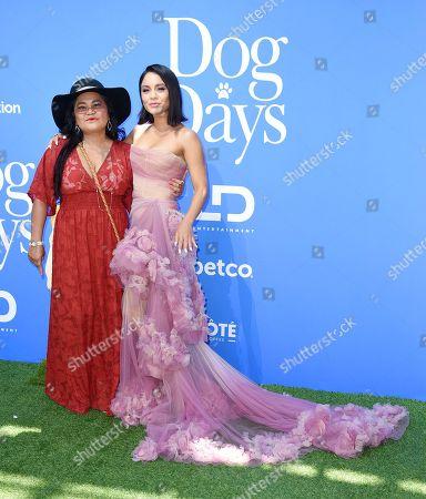 Stock Photo of Gina Guangco and Vanessa Hudgens