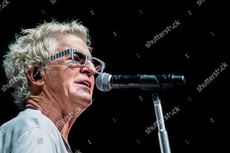 The American iconic rock band REO Speedwagon with lead vocalist Kevin Cronin performs at the Xfinity Center, in Mansfield, Mass