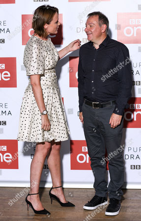 Keeley Hawes and Jed Mercurio