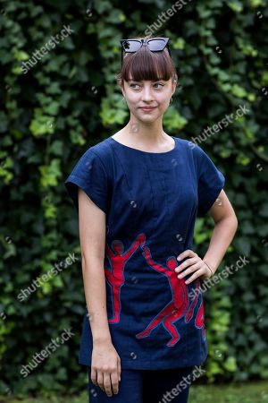 Stock Photo of Russian actress Anastasia Shevtsova poses during a photocall for the movie 'Le vent tourne' at the 71st Locarno International Film Festival, in Locarno, Switzerland, 06 August 2018. The Festival del film Locarno 2018 runs from 01 to 11 August.