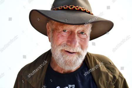 Stock Picture of Actor Jack Thompson poses for a portrait during the Garma Festival near Nhulunbuy, East Arnhem Land, Northern Territory, Australia, 05 August 2018 (issued 06 August 2018). The Garma gathering brings together business leaders, international political leaders, intellectuals, academics and journalists to discuss the most pressing issues facing Australia.
