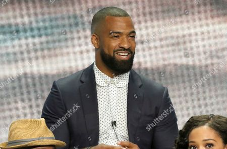 """Stock Photo of Spencer Paysinger participates in the """"All American"""" panel during the CW Television Critics Association Summer Press Tour at The Beverly Hilton hotel, in Beverly Hills, Calif"""
