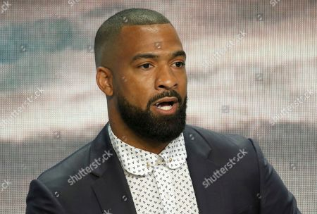 """Spencer Paysinger participates in the """"All American"""" panel during the CW Television Critics Association Summer Press Tour at The Beverly Hilton hotel, in Beverly Hills, Calif"""