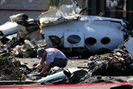 Plane crash Santa Ana Fotos de stock (exclusivo) | Shutterstock