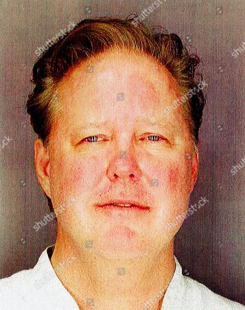 This undated photo provided by Sag Harbor Village Police Department, shows Brian France, chairman of NASCAR, taken after his arrest in New York's Hamptons for driving while intoxicated and criminal possession of oxycodone
