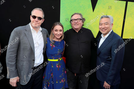 Toby Emmerich, Chairman of Warner Bros. Pictures Group, Blair Rich, President, Worldwide Marketing, Warner Bros. Pictures Group and Warner Bros. Home Entertainment, Lorenzo di Bonaventura, Producer, Kevin Tsujihara, Chairman and Chief Executive Officer, Warner Bros.,