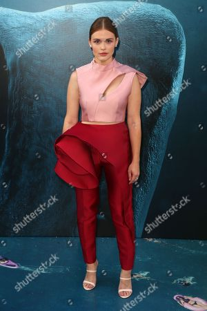 Editorial image of 'The Meg' film premiere, Arrivals, Los Angeles, USA - 06 Aug 2018