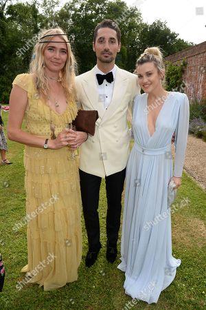 Jodie Kidd, Hugo Taylor, Ashley Roberts