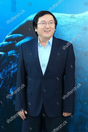 US actor/cast member Masi Oka attends the US premiere of 'The Meg' at the TCL Chinese Theatre IMAX in Hollywood, Los Angeles, California, USA, 06 August 2018 (issued 07 August 2018). The movie opens in the US on 10 August.