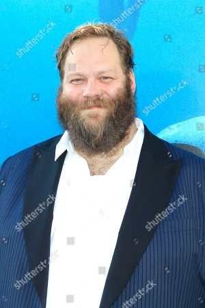 US-born Icelandic actor/cast member Olafur Darri Olafsson attends the US premiere of 'The Meg' at the TCL Chinese Theatre IMAX in Hollywood, Los Angeles, California, USA, 06 August 2018 (issued 07 August 2018). The movie opens in the US on 10 August.