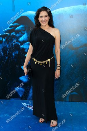 US actress Alicia Coppola attends the US premiere of 'The Meg' at the TCL Chinese Theatre IMAX in Hollywood, Los Angeles, California, USA, 06 August 2018 (issued 07 August 2018). The movie opens in the US on 10 August.