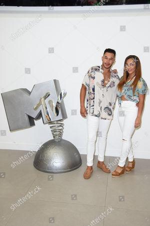 Cameron Fallon and Shereece Marcantonio