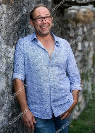 Stock Photo of Belgian actor Olivier Gourmet poses during a photocall for the film 'Ceux qui travaillent' (Those Who Work) during the 71st Locarno International Film Festival, in Locarno, Switzerland, 07 August 2018. The Festival del film Locarno 2018 runs from 01 to 11 August.