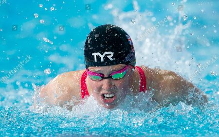 Great Britain's Hannah Miley competes in her 200m Individual medley heat.