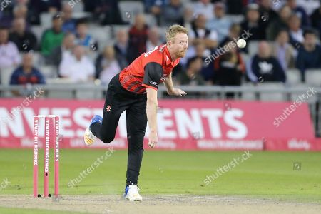 Paul Collingwood of Durham Jets during the Vitality T20 Blast North Group match between Lancashire Lightning and Durham Jets at the Emirates, Old Trafford, Manchester