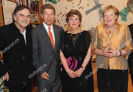 Markus Hinterhaeuser, Joachim Sauer, Helga Rabl Stadler, Angela Merkel