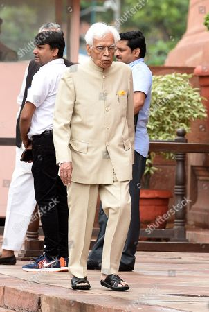 Former External Affairs Minister Natwar Singh during the ongoing Monsoon Session of Parliament, on August 6, 2018 in New Delhi, India.