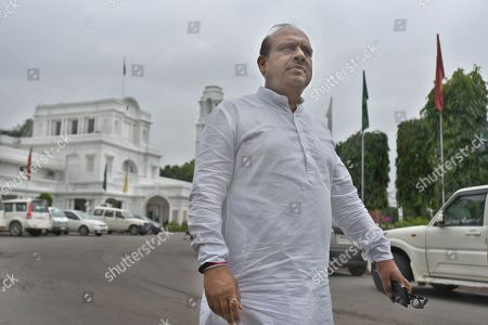 Bharatiya Janata Party leader Vijender Gupta seen outside Vidhan Sabha, on August 6, 2018 in New Delhi, India.