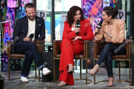 Dallas Roberts, Lauren Gussis and Alyssa Milano