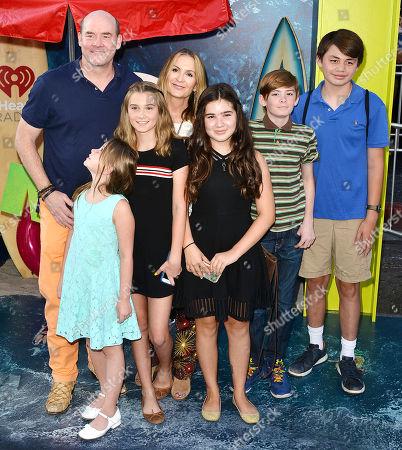 David Koechner, Leigh Koechner, family