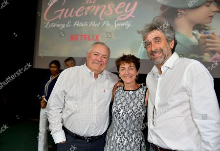 Editorial image of 'The Guernsey Literary and Potato Peel Pie Society' film screening and book signing, Miami, USA - 06 Aug 2018