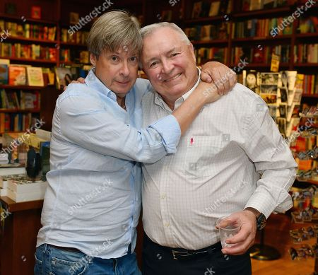 Stock Photo of Author Dave Barry and Les Standiford