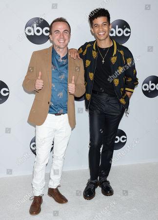 Frankie Muniz and Jordan Fisher