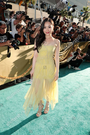 Editorial photo of Warner Bros. Pictures film premiere of 'Crazy Rich Asians' at TCL Chinese Theatre, Los Angeles, USA - 7 Aug 2018