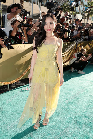 Editorial image of Warner Bros. Pictures premiere of 'Crazy Rich Asians' at TCL Chinese Theatre, Los Angeles, CA, USA - 7 August 2018