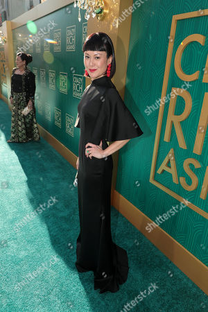 Editorial picture of Warner Bros. Pictures film premiere of 'Crazy Rich Asians' at TCL Chinese Theatre, Los Angeles, USA - 7 Aug 2018