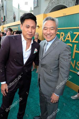 Jon M. Chu, Director, Kevin Tsujihara, Chairman and Chief Executive Officer of Warner Bros.,