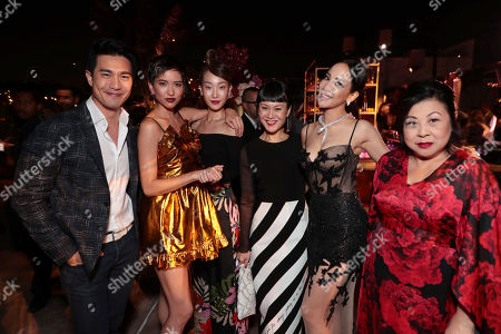 Pierre Png, Sonoya Mizuno, Constance Lau, Janice Koh, Fiona Xie, Koh Chieng Mun