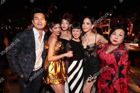 Editorial image of Warner Bros. Pictures film premiere of 'Crazy Rich Asians' at TCL Chinese Theatre, Los Angeles, USA - 7 Aug 2018