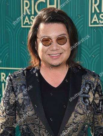 "Kevin Kwan arrives at the premiere of ""Crazy Rich Asians"" at the TCL Chinese Theatre, in Los Angeles"