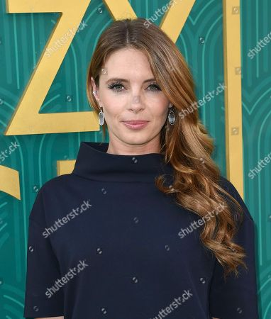 """Amy Louise Pemberton arrives at the premiere of """"Crazy Rich Asians"""" at the TCL Chinese Theatre, in Los Angeles"""