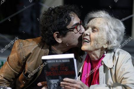 Editorial photo of Fabrizio Mejia presents his novel 'Esa Luz que nos Deslumbra' in Mexico City - 02 Aug 2018